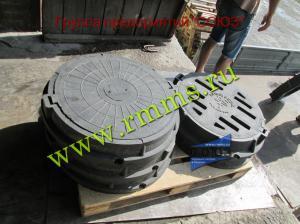 полимерпесчаные люки для колодцев
